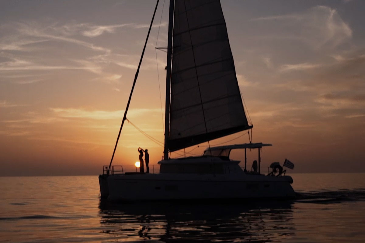 Private Sunset Cruise by S/Y Wind Spirit